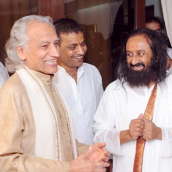 Yogi Amrit Desai and Shri Shri Ravi Shankar